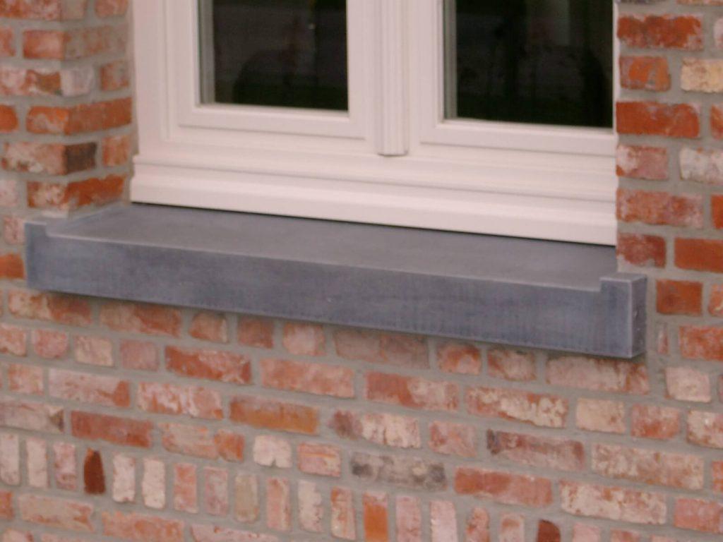 Venstertablet in Arduin - Belgisch blauwe hardsteen
