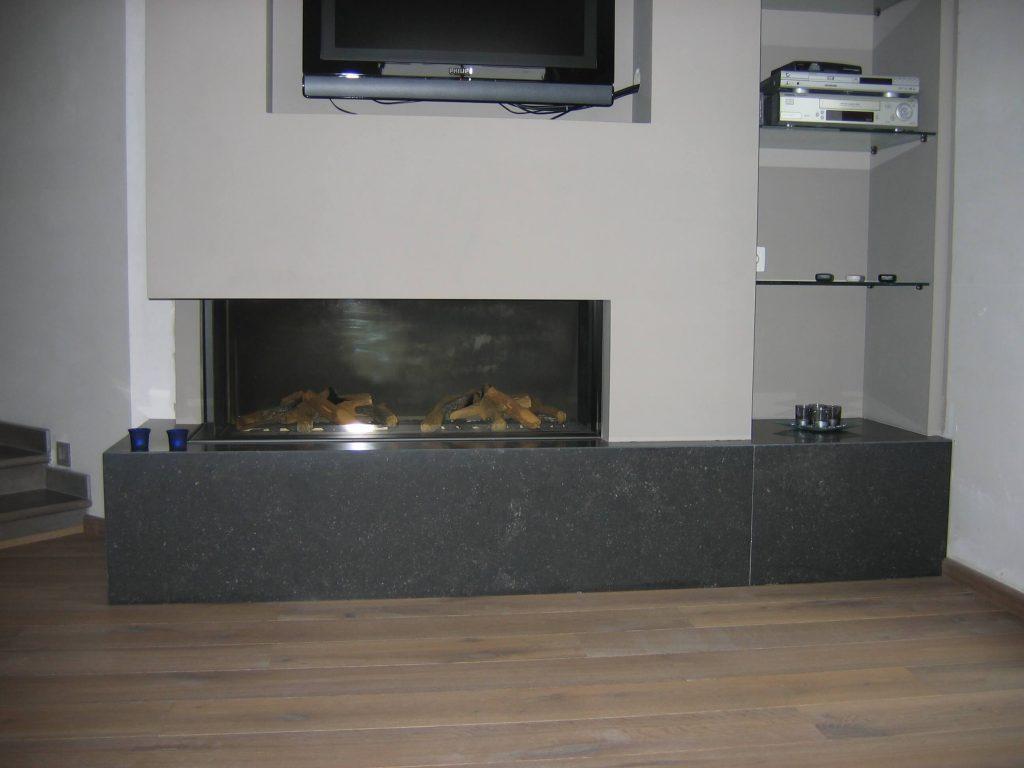 Interieur Kachel in Arduin - Belgische blauwe hardsteen