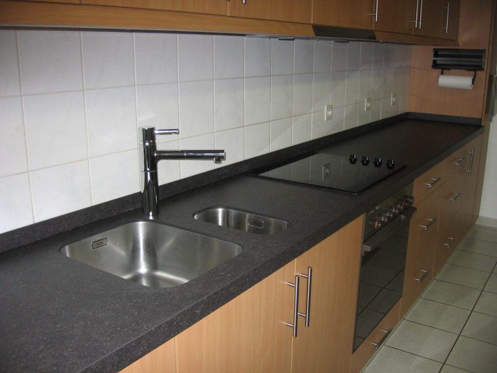 Keukenblad in Arduin - Belgisch blauwe hardsteen
