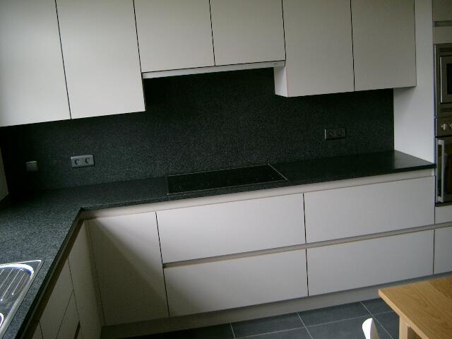Keukenblad in Graniet