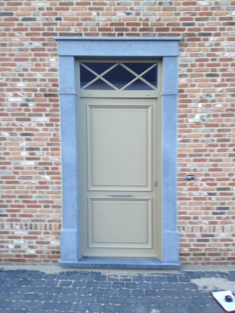 Deuromlijsting in Arduin - Belgische blauwe hardsteen