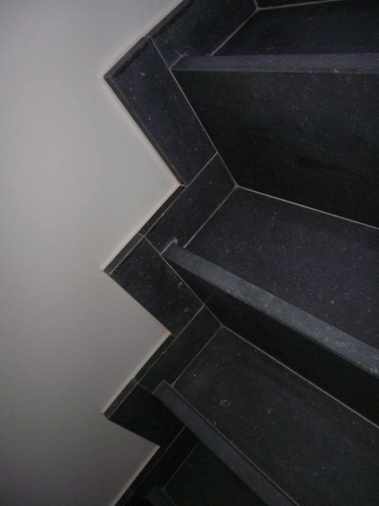 Trap in Arduin Verzoet - Belgisch blauwe hardsteen